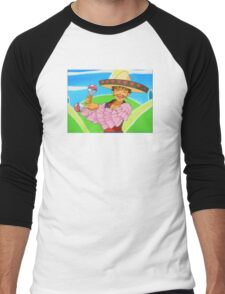 Groovy Brock Men's Baseball ¾ T-Shirt