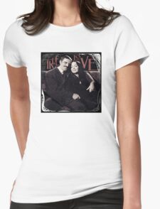 Gomez & Morticia Addams: True Love Womens Fitted T-Shirt