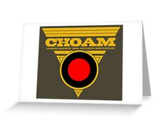 Dune CHOAM Greeting Card