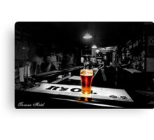 Bar Room Light Canvas Print
