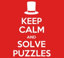 Keep Calm and Solve Puzzles One Piece - Short Sleeve