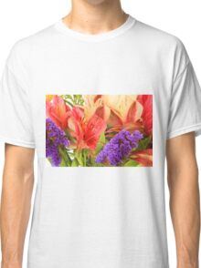 Colorful Bouquet of Flowers Classic T-Shirt