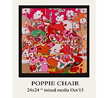 POPPIE CHAIR Photographic Print