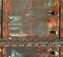 Rusty No. 4 iPhone Case by Buckwhite