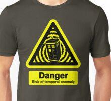 Tardis Danger! Unisex T-Shirt