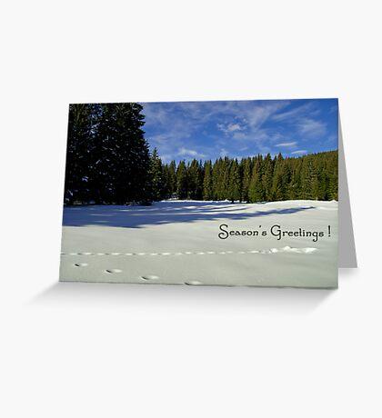 Season's Greetings ~ Austria ~ Europe Greeting Card