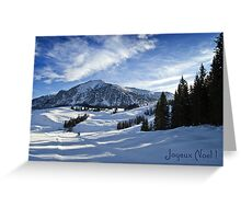Joyeux Noel ~ Austria ~ Europe Greeting Card