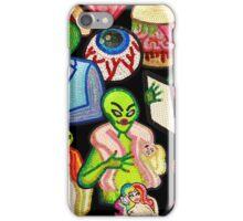Bad Aliens Trick Or Treat iPhone Case/Skin
