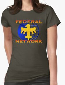 Federal Network: Do You Want to Know More? Womens Fitted T-Shirt