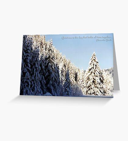 Winter Wonderland ~ Austria ~ Europe Greeting Card