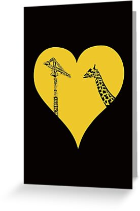 Giraffes Love Cranes by jezkemp
