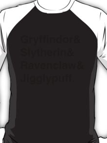 Hogwarts Houses T-Shirt