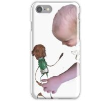 baby meets junk puppet iPhone Case/Skin