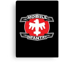 Mobile Infantry Canvas Print
