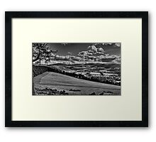 Glentress View Framed Print