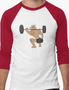 squats Men's Baseball ¾ T-Shirt