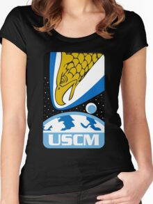 USCM Colonial Marines Women's Fitted Scoop T-Shirt