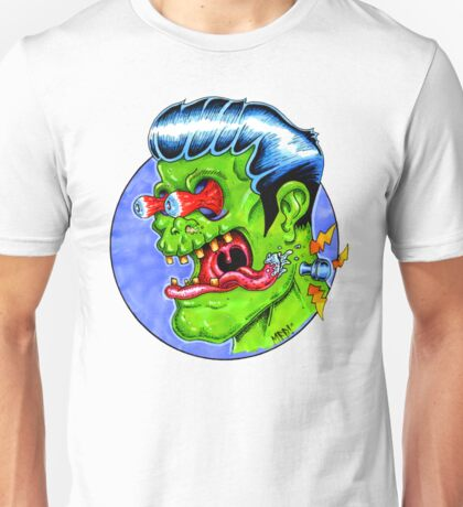 Freaky Frankie (Color) Unisex T-Shirt