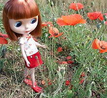 Reggie Loves Poppies by phillaine