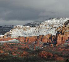Sedona with snow by AZLiane