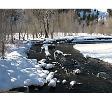 Little Big Wood River, Ketchum, Idaho; USA Photographic Print