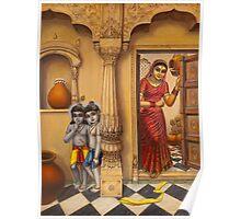 Krisha makhan chor Poster