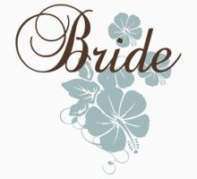 Bride Hibiscus Tee by sweettoothliz
