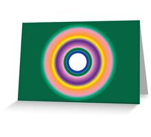 A Healing Thoughtform - A Gift from Raphael Greeting Card