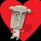 Cupid_iphone case by KenRinkel