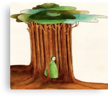 Woods. Canvas Print