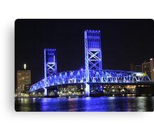 Bridge Over St Johns Canvas Print