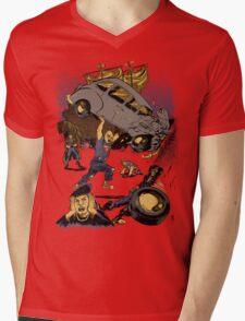 Super Sloth Mens V-Neck T-Shirt