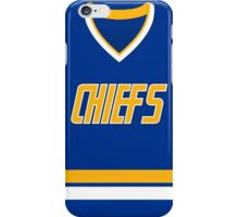 Charlestown Chiefs Away Jersey iPhone Case/Skin
