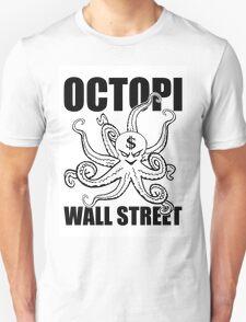 Octopi Wall Street Unisex T-Shirt