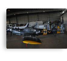 Messerschmidt Me108,Albion Park Airshow,Australia 2014 Canvas Print