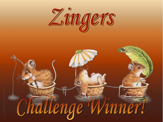 Zingers Challenge Winners Banner by EnchantedDreams