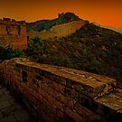 Sunrise at Great Wall City by AmeliaC