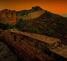 Sunrise at Great Wall City by Amelia Chen