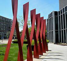 Cleveland State University (study no.1) by WonderlandGlass