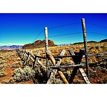 Desert Ranching Photographic Print