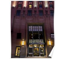 Fenn Tower #1, (Main entrance), Cleveland State University Poster