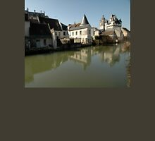 Indres River Reflections, Loches, France 2012 Unisex T-Shirt