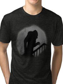Nosferatu Silhouette Tri-blend T-Shirt