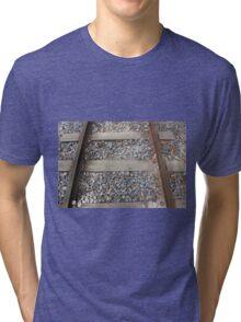 Steel Railway Tracks Tri-blend T-Shirt
