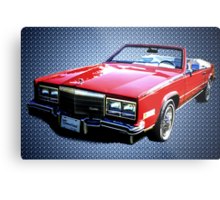 A Classy Classic:  1968 Cadillac Eldorado Metal Print