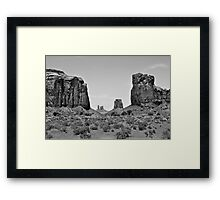 Looking Through the North Window Framed Print