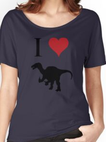 I Love Dinosaurs - Iguanodon Women's Relaxed Fit T-Shirt