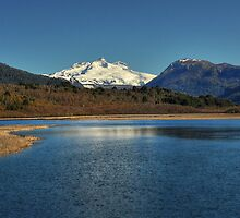 Lake and Mountain by Peter Hammer