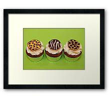 Wild Cupcakes Framed Print