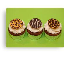 Wild Cupcakes Canvas Print